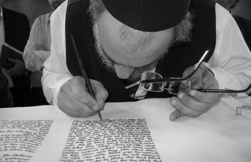 Rav Lasry, Sofer, Sefer Torah, Marseille