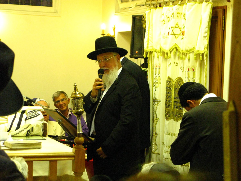 Hakhnassat Sefer Torah avec Rav Yossef Sitruk, Beth haketiva