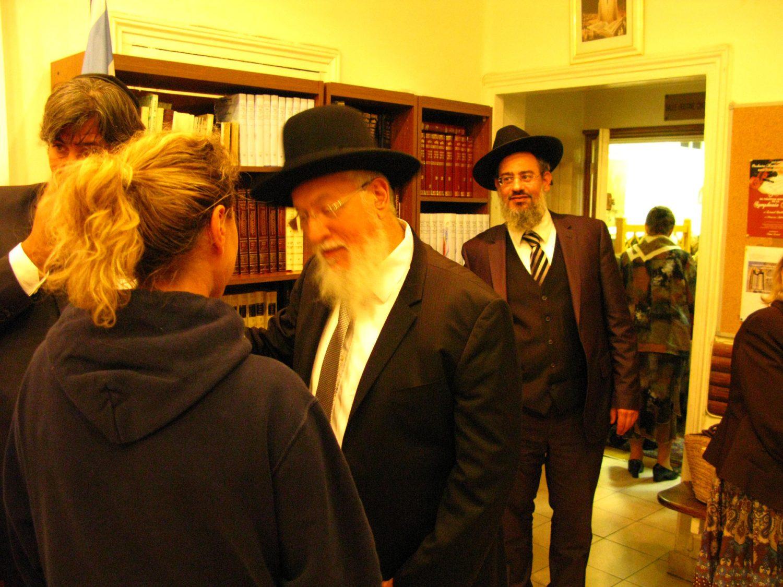 Rav Lasry, Hakhnassat Sefer Torah avec Rav Yossef Sitruk, Beth haketiva